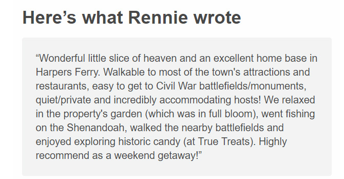 Rennie's Review